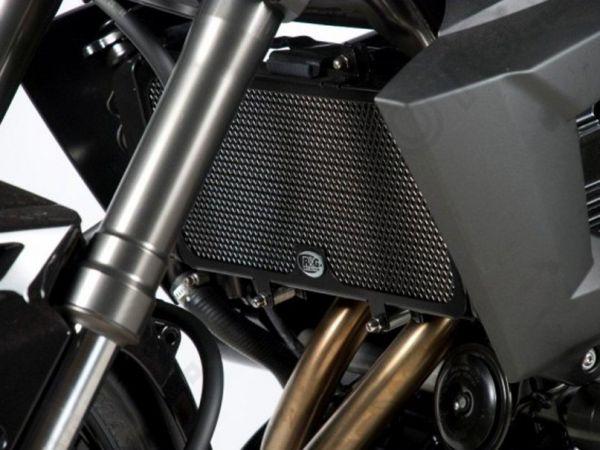 Refroidisseur d'eau de calandre noir pour Kawasaki Versys 650 (2010-2014)