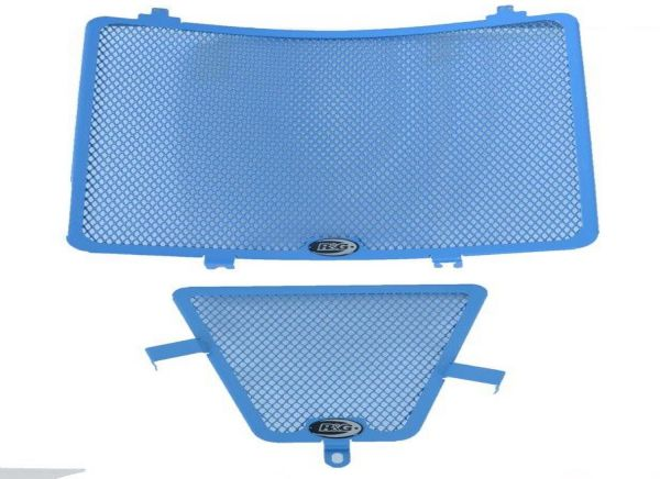 Radiator grille set water and oil blue for Suzuki GSX-R 1000 (2017-2020)