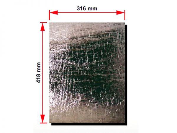 Hitzeschutzfolie Temperaturbeständig bis 550 C 316 x 418 mm