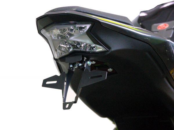 License plate holder IQ1 for Kawasaki Z 900 (2017-2021)
