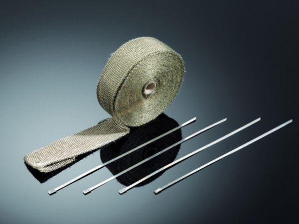 Hitzeschutzband, Auspuffband, Titan ,10 Meter