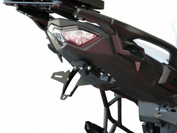 License plate holder IQ1 for Kawasaki Versys 650 (2015-2019)