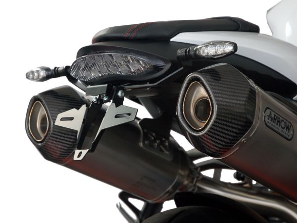 IQ7 licence plate holder for Triumph Speed Triple S - R - RS (2017-2020)