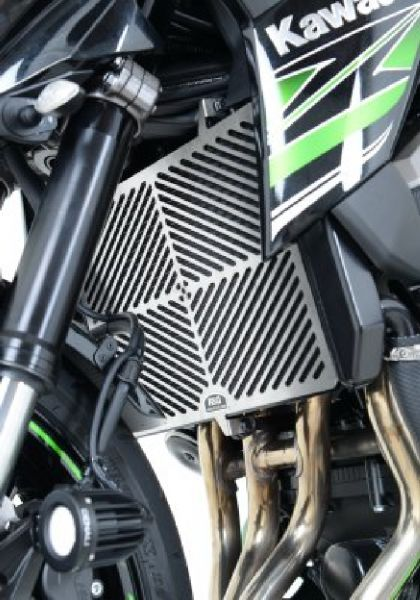 Radiator grille water cooler stainless steel for Kawasaki Z 800 (2013-2016)