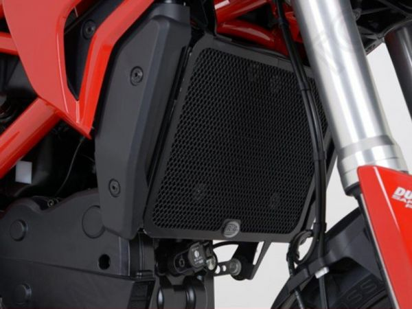 Radiator grille water cooler black for Ducati Hyperstrada 821 (2013-216) 939 (2016-2017)