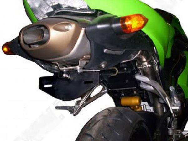 License plate holder R&G for Kawasaki ZX-6 R (2005-2006)