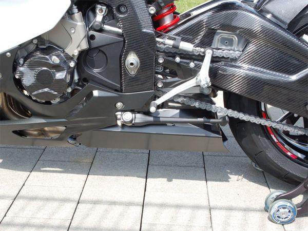 Auspuffabdeckung, Belly Pan für BMW S1000RR (2009-2014) mit Komplettanlagen