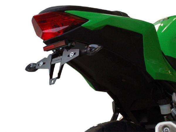 Porta targa IQ4 per Kawasaki Ninja 300 (2013-2016)
