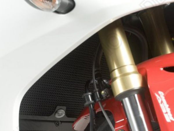 Kühlergitter Wasserkühler schwarz für Honda CBR600F (2011-2013)