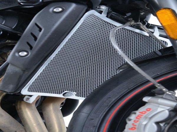 Radiator grille water cooler black for Triumph Street Triple 765 R S RS (2017-2020)