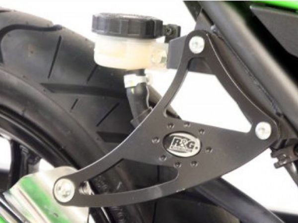 Exhaust bracket for Kawasaki Ninja 250 R (2008-2012)