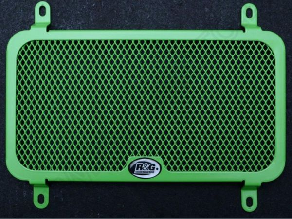 Radiator grille water cooler GREEN LINE for Kawasaki Z 250 (2013-) Z 300 (2015-2016)