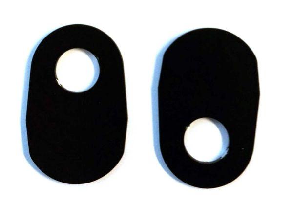 Placas adaptadoras de intermitentes para Suzuki GSX-R 1000 GSX-S 750 (2017-2020)