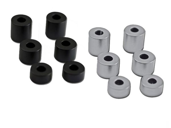 Aluminium Abstandshalter Set 6-teilig