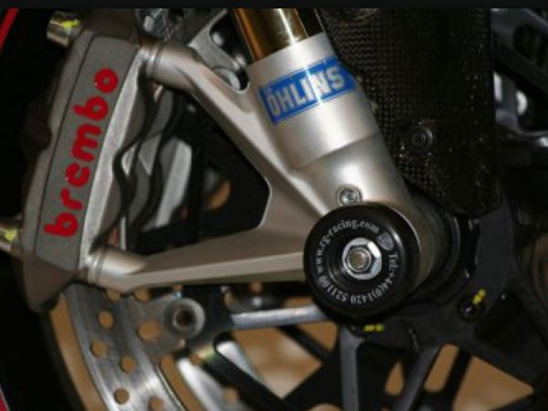 Fork protectors for Ducati 848 1098 1198 Streetfighter