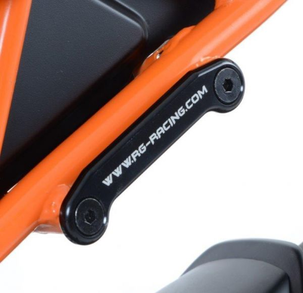 Foot rest cover for KTM RC 125 390 (2014-2020)
