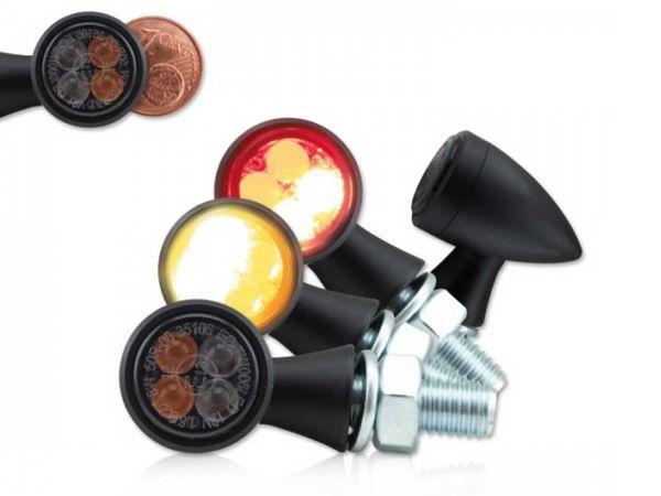 Cero SMD intermitente con luz de freno y luz trasera
