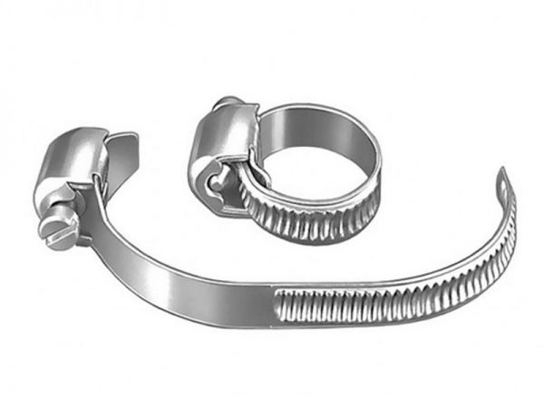 Hose clamps DIN 3017, 5 pieces stainless steel