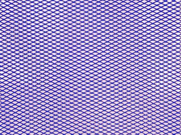 Grille de radiateur 20 x 33,5 cm bleu
