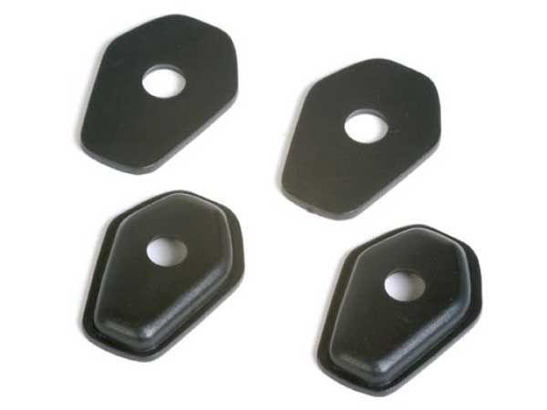 Turn signal adapter plates for Suzuki