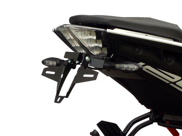 Support de plaque d'immatriculation IQ7 pour KTM Duke 125 Duke 390 (2017-2021)