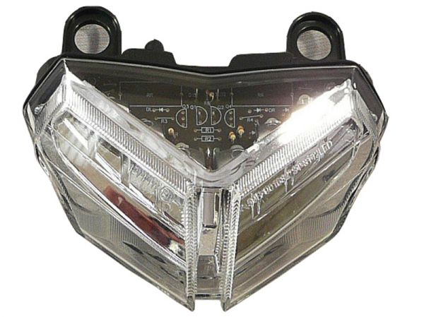 Taillight for Ducati 848 1098 1198 clear