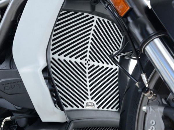 Radiator grille water cooler silver for Ducati XDiavel (2016-2020)