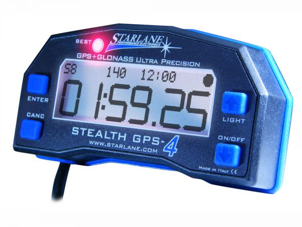 GPS Laptimer Stealth GPS4 Data