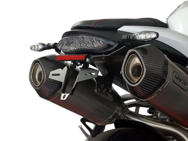 Support de plaque d'immatriculation IQ6 pour la Triumph Speed Triple S - R - RS (2016-2020)