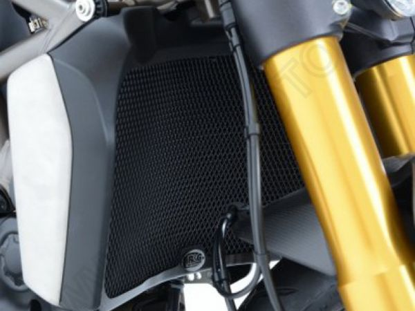 Radiator grille water cooler black for Ducati Hypermotard 950 | SP | RVE (2019-2021)