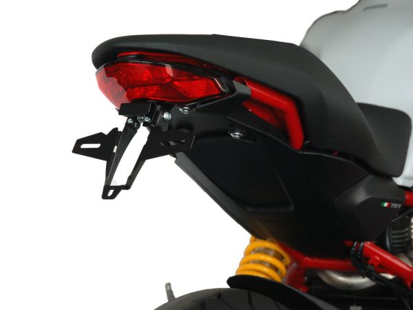 License plate holder IQ1 for Ducati Monster 821 (2018-2020)