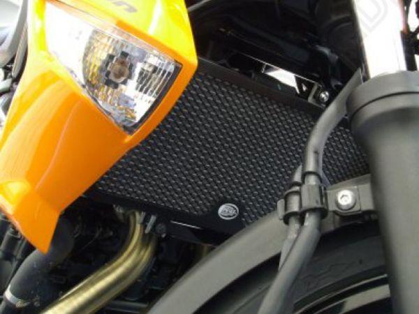Kühlergitter Wasserkühler schwarz für Kawasaki ER 6 N F (2009-2011)