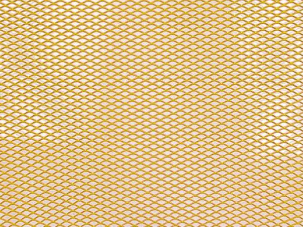 Radiator grille grid 20 x 33,5 cm gold