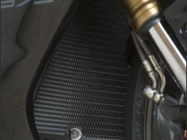 Kühlergitter Wasserkühler schwarz für Triumph Daytona 675 675 R (2013-2016)