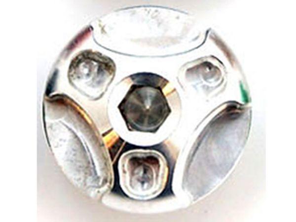 Öleinfüllschraube HEX M26x3 silber