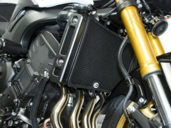 Kühlergitter Wasserkühler schwarz für Yamaha FZ 8 (2010-2016) FZ 1 N Fazer (2006-2015)