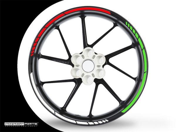 Adesivo bordo cerchio GP Race Italia 1