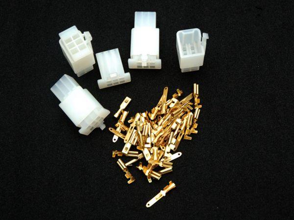 Connettore a blocco Giappone 56 pezzi 4 x 6 blocchi inclusi i pin