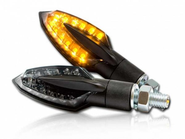 La señal de giro del LED de la astilla