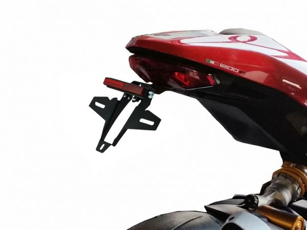 License plate holder IQ4 for Ducati Monster 1200 R (2016-2019)