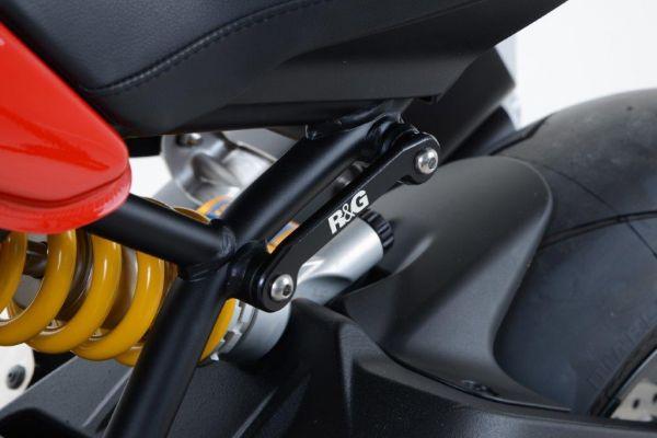 Revêtement de repose-pieds pour la Ducati Monster 1200 Super Sport (2017-2020)