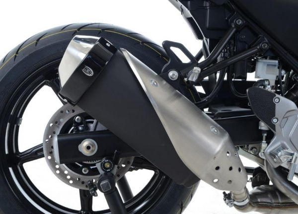 Exhaust protector for BMW S1000RR (2009-2018) with Akrapovic silencer