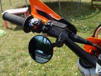 TecBike FAR Lenkerspiegel FLEXI 7699 für Supermoto   Enduro   Naked   2 Stück