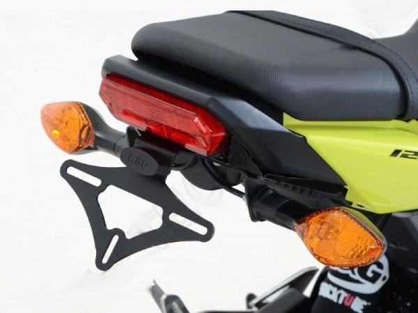 License plate holder R&G for Honda MSX 125 (2016-2018) only original indicators