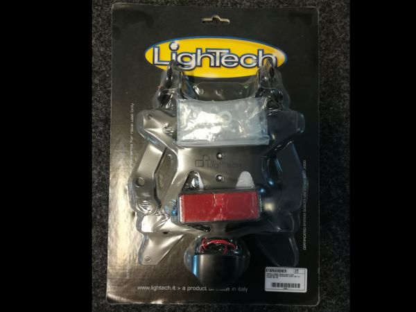 Support de plaque d'immatriculation pour Kawasaki ZX-10R (2008-2010) de lightech