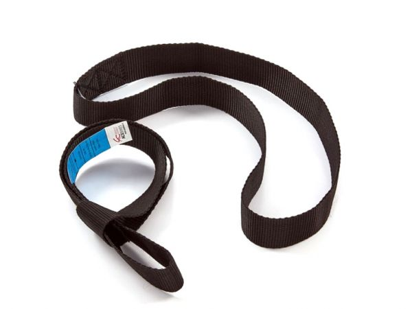 Cinghia a doppio anello in nylon come estensione