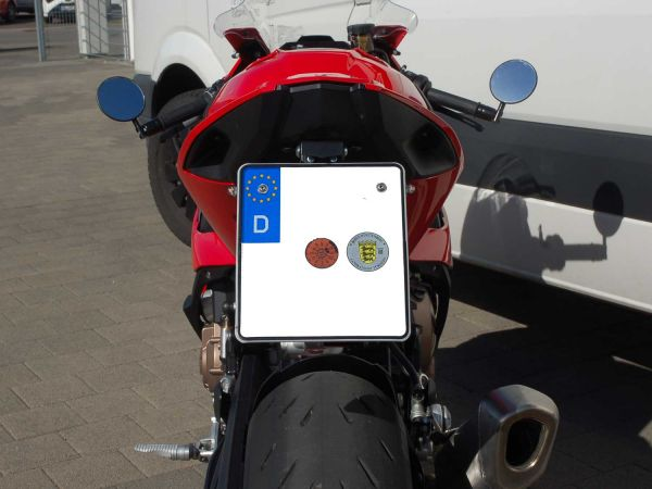 License plate holder IQ1 with indicators for BMW S1000RR (2019-2021)