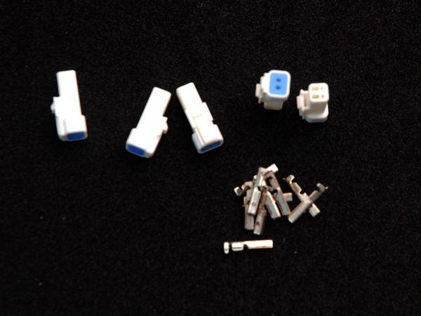 JST-Steckerset 15-teilig 02R-JWPF-VSLE-S 5 x 2er Stecker männlich inklusive 10 Pins