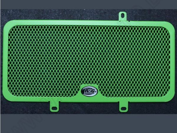 Radiator grille water cooler GREEN LINE for Kawasaki Versys 650 (2010-2014)