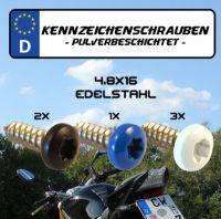 Kennzeichenschrauben Set 4,8x16 Torx